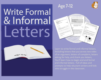 Let's Write Formal And Informal Letter (7-11 years)