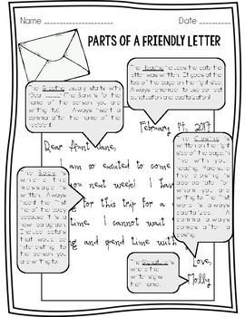 Let's Write Friendly Letters