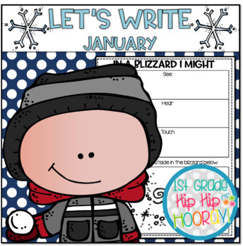 Let's Write...January...ELA CCSS