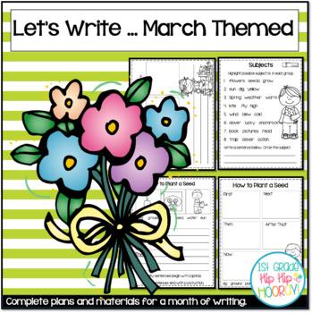 Let's Write...March...ELA CCSS