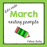 Let's Write! March Writing Prompts