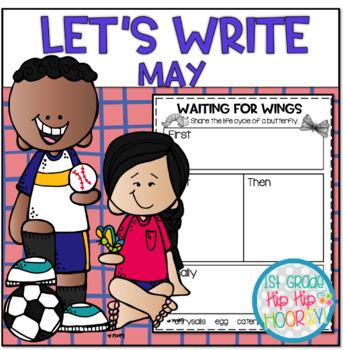 Let's Write...May...ELA CCSS