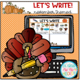 Let's Write ... November... Distance Learning