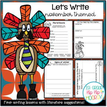 Let's Write...November...ELA CCSS