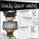 October Daily Quick Writes