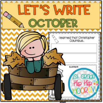 Let's Write...October...ELA CCSS