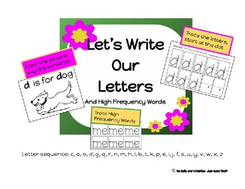 Let's Write Our Letters