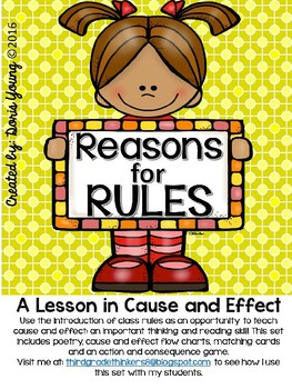 Let's Write Our Rules (Editable): A Lesson in Cause and Effect
