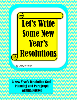 Let's Write Some New Year's Resolutions