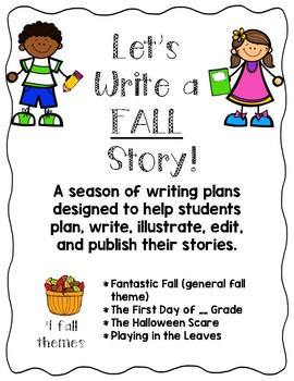 Let's Write a FALL Story!