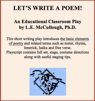 Let's Write a Poem! - A Writing Play