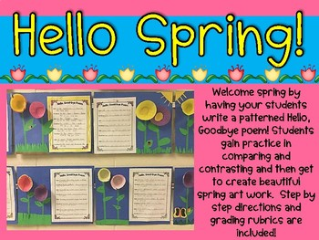 Let's Write a Spring Poem: Writing Resources and Rubric