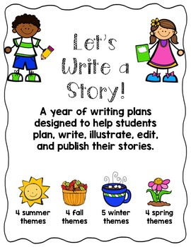 Let's Write a Story: A Year of Writing Plans