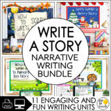 Narrative Writing: Let's Write a Story Growing Bundle