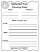 Let's Write a SUMMER Story! Guiding Students Through the Writing Process