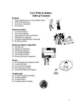 Let's Write in Italian-Level 2