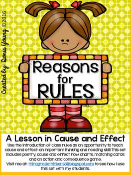 Let's Write our Rules: A Lesson in Cause and Effect