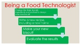 Let's be a Food Technologist Activity Book