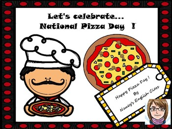 Let's celebrate...National Pizza Day !