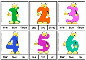 Counting from 1 to 20