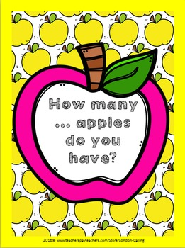 Let's count all the apples!