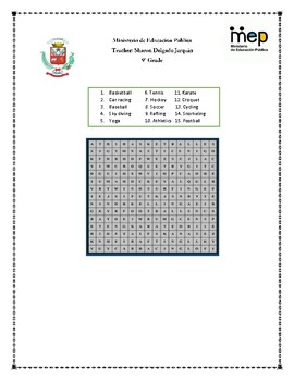 Let´s do this amazing worksheet