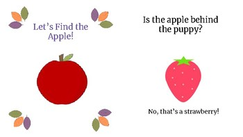 Let's find the Apple!  Early Lift the Flap Book