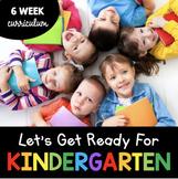 Let's get ready for kindergarten - kindergarten readiness - back to school  Prek