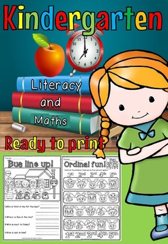 Let's go Kindergarten and year 1 maths and literacy