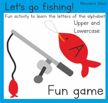 Let's go fishing! ABC's activity