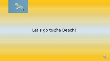Let's go to the Beach - PowerPoint Presentation