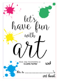 Let's have fun with art