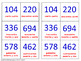"Let's learn and review ""bigger numbers (thousands)"". Lottery – (Board Game)."