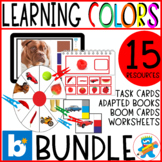 Colors Bundle. 5 engaging resources to teach colors.