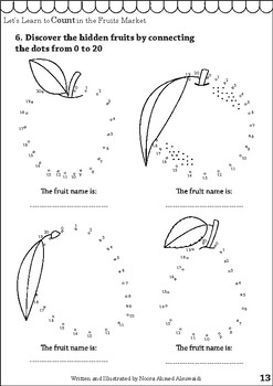 Let's learn counting in the fruits market - From 1-20