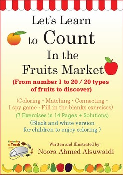 Let's learn to count in the fruits market - From number 1-20