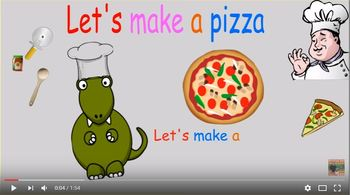Let's make a pizza (How to make a pizza song)