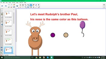 Let's meet Rudolph's brothers & sisters SMARTboard activity!!