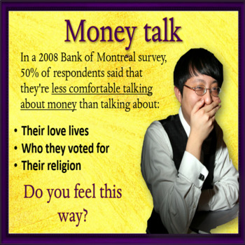 Let's (not) talk about money - ESL adult and kid conversation classes