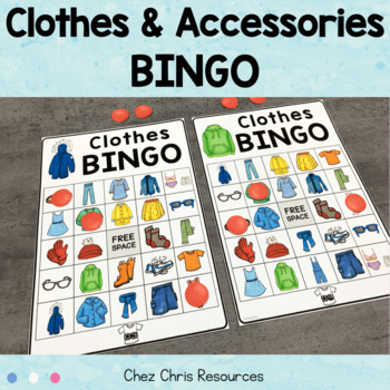 Let's play BINGO ! Clothes - Clothing
