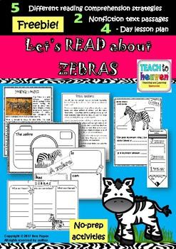 Let's read about zebras!