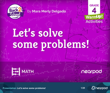 Let's solve some problems!