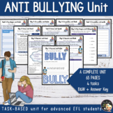 Bullying Activities - Unit for teens
