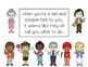Social Stories for Autism: Let's try to give a respectful reply!
