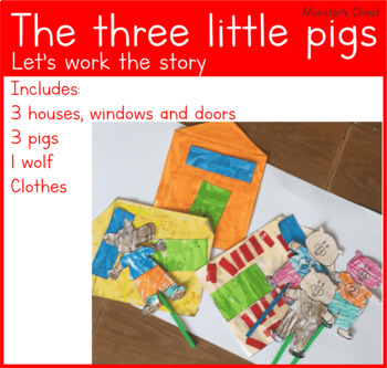 Let's work the story the three pigs