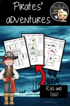 Pirates Adventure - Story dice