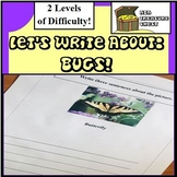 Let's write about.... Bugs!  Autism, ABA, Reluctant writers