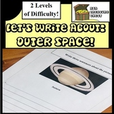 Let's write about.... Outer Space! Autism, ABA, Reluctant writers