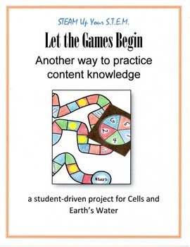Science - Let the Games Begin! (student constructed; student practiced)