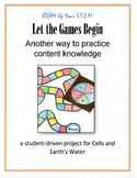 Science - Let the Games Begin! (student constructed; stude